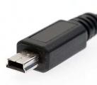 Kabel USB 2.0 A konektor - MINI konektor USB délka 1,8m, pro nabíjení, datové připojení telefonu, digitálního fotoaparátu, PDA-telefon s počítačem, chytrých telefonů, MP3 a MP4 přehrávačů a GPS naviga