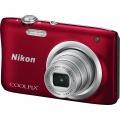 NIKON COOLPIX A100 RED Kompaktní fotoaparát