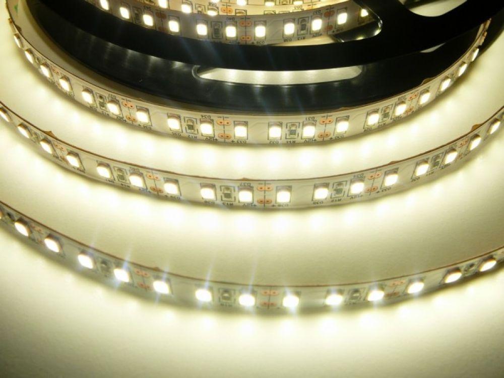 LED pásek vnitřní 20W/m, CRI-600 vnitřní až 2100lm/m, svítivost extra vysoká, 120LED/metr, cena za 1m - Denní bílá