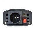 Měnič napětí DC/AC 12V/230V 300W CZ + USB 5V CARSPA