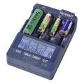Nabíječka Voltcraft IPC-3 Li-Ion · NiCd · NiMH  baterií AA, AAA, 18650 a dalších typů accu, LiFePO, 14500, 17335, 17500, 17670, 18490, CR-123A, Řízená mikroprocesorem