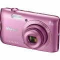NIKON COOLPIX A300 PINK digitální fotoaparát - fialová, růžová