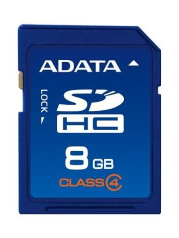 Paměťová karta A-Data SDHC 8GB SD Class 4 TDK