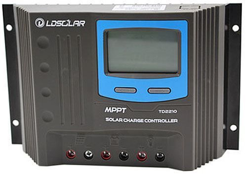 Solární MPPT TD2210 regulátor 12/24V DC, proud do 20A , vstup max.100V DC