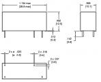RELÉ HF118F/012, cívka 12V DC, 1x spínací kontakt, Proud kontaktu 10A /250 V AC