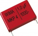 1µF/1000V MKP10 fóliový kondenzátor RM37