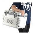 Autochladnička 19l + display 220V/24V/12V lednice, box, napájení i 230V, do auta, kamionu, náklaďáku, na chatu