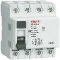 Chránič ID 400V/25A-30mA 3-fázový na DIN lištu