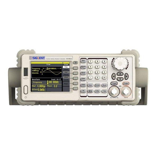 """Generátor SIGLENT SDG 805 Generátor SIGL, LCD 3,5""""TFT  LCD, kmitočtové pásmo 1 uHz až 5 MHz, základní průběhy (sinus, trojúhelník, obdélník, impuls, šum),"""