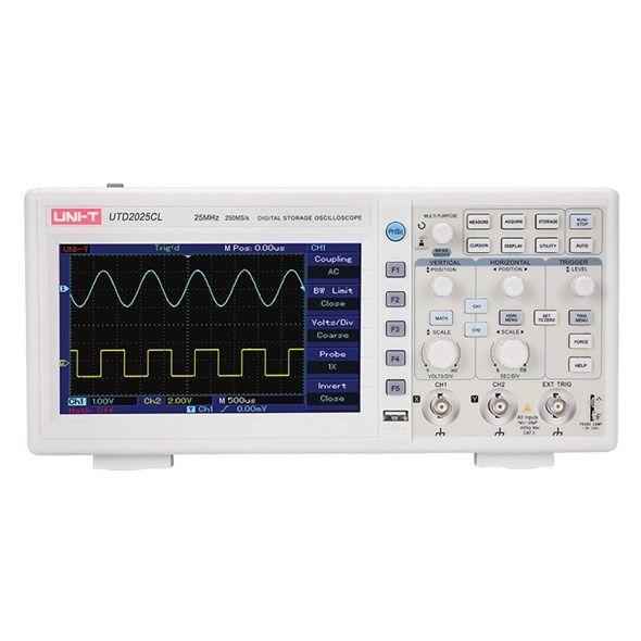 Osciloskop UNI-T UTD2025CL 25MHz , stolní, 2 kanály