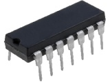 74HCT04 6x invertor, DIP14