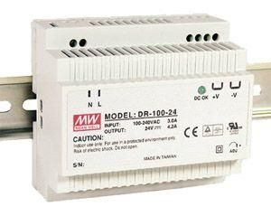 Zdroj stabilizovaný spínaný 24V 4A 96W (MDR-100-24)na DIN lištu