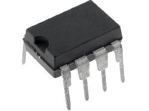 LM386N Audio nf zesilovač 4-12V 0.325W DIL8