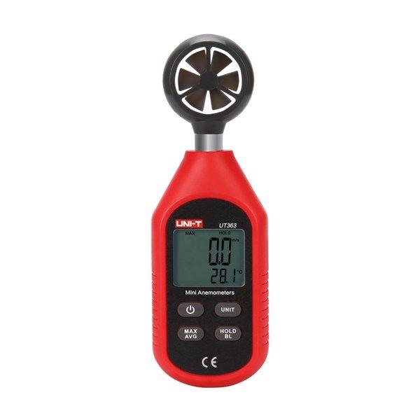 Měřič rychlosti větru Anemometr mini UNI-T UT363, kapesní
