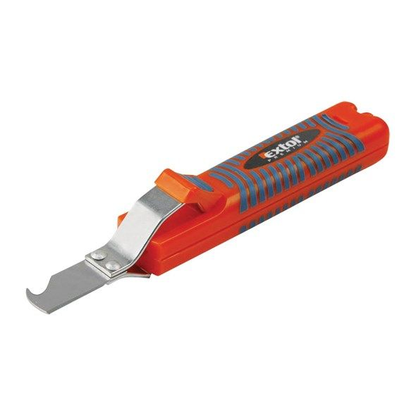 Odizolovací k odstranění izolace kabelů EXTOL PREMIUM, 8-28mm, délka nože 170mm, na kabely ∅8-28mm