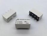 RELÉ HONGFA RELAY HFD2/005-S-L2, 2x přep.kontakt 5V/3A DC bistabilní
