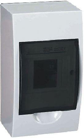 Rozvaděč TSM-4 plastový 1x4M na omítku IP40