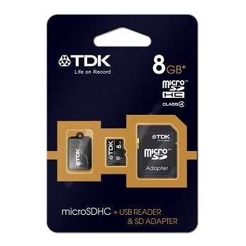 Paměťová karta TDK SDHC 8GB micro