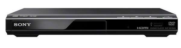 Sony DVP-SR760H DVD přehrávač, černý