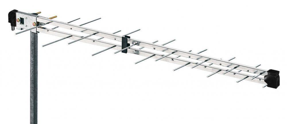 Anténa LP45F logaritmicko-periodická Fracarro televizní UHF pásmo pro příjem DBV-T, Frekvenční rozsah: 470 - 790 MHz, Zisk: 10 - 12 dBi LTE filtr, směrová