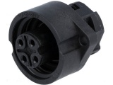 Konektor napájecí DC AMPHENOL C016 20G003 100 12  4P PANEL
