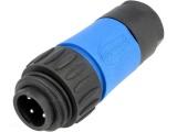 Konektor napájecí DC AMPHENOL C016 20H003 100 10  4P