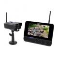 KÖNIG SAS-TRANS60 Kompletní set - kamera venkovní IP wifi + Monitor, 4-kanál