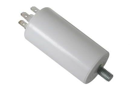Kondenzátor rozběhový motorový 12µF/450V s vývody na fastony
