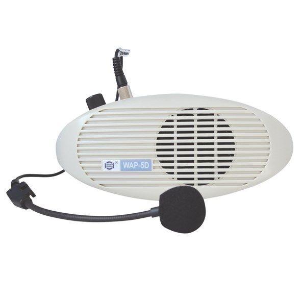 Řečnický systém WAP-5D+HM26 s bezdrátovým mikrofonem-vestavěný, k zesílení Vašeho hlasu při prezentacích, výstavách a přednáškách, vhodná i pro průvodce