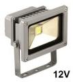 Reflektor LED venkovní 10W 12V šedý