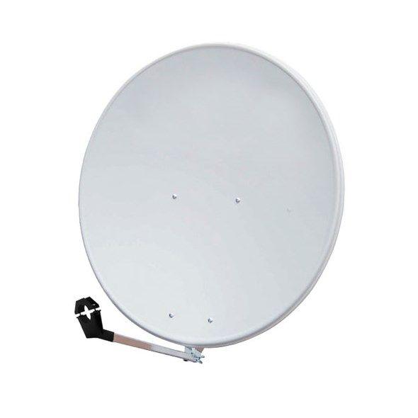 Satelitní parabola 80 AL Emme Esse bílá Ofset, hliník