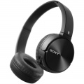 Sluchátka bezdrátová SONY MDR ZX330BT Bluetooth, uzavřená, Dobíjení rozhraním USB, Frekvenční rozsah (Hz) 20 Hz – 20 000 Hz, černá