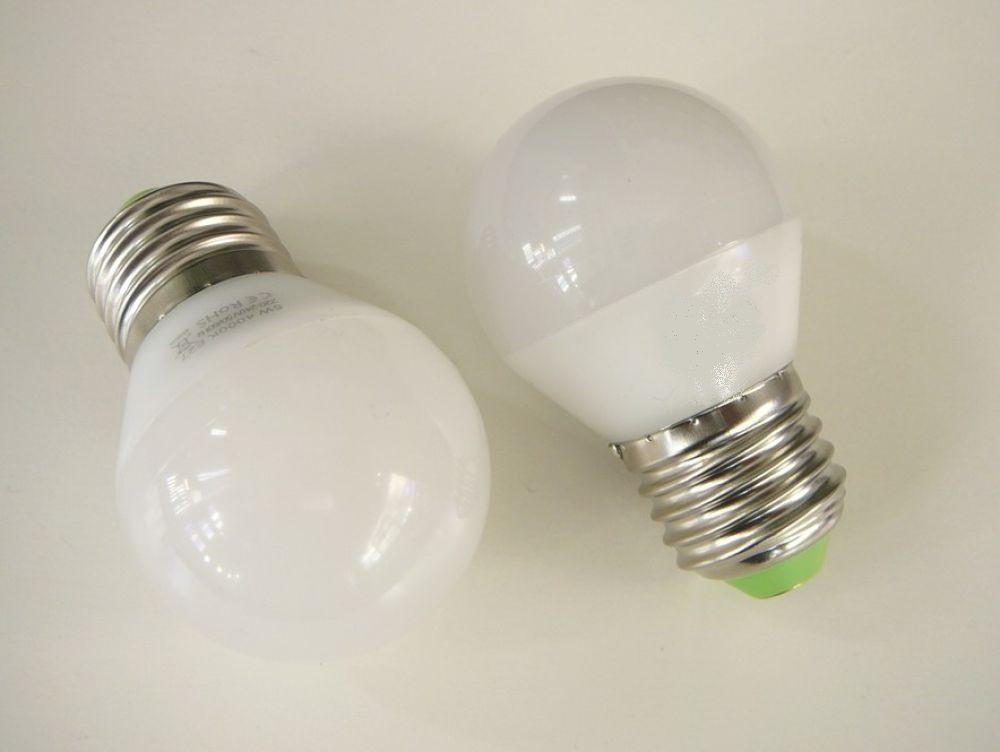 Žárovka LED závit E27/230V 5W - denní bílá úhel svitu 260°