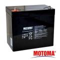 Baterie olověná 12V 55Ah MOTOMA pro elektromotory TRAKČNÍ