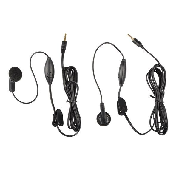 HandsFree do ucha sada SENCOR SMR 130/220/600, k ruční vysílačce PMR, Jack 2,5 mm konektor