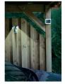 LED osvětlení - solární reflektor s PIR čidlem DUO bílé, venkovní osvětlení s čidlem