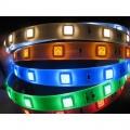 LED pásek RGB 300SMD 60LED/m samolepící vnitřní, spotřeba 14,4W/m, cena za 1m