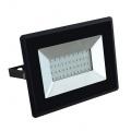 Reflektor LED slim 30W, 2500lm, 4000K, AC 230V, černá