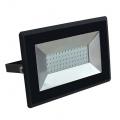 Reflektor LED slim 50W, 4250lm, 4000K, AC 230V, černá