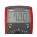 Multimetr UNI-T UT 39C digitální, měří AC/DC napětí proud, odpor, kmitočet, diodu, akustická signalizace, teplota