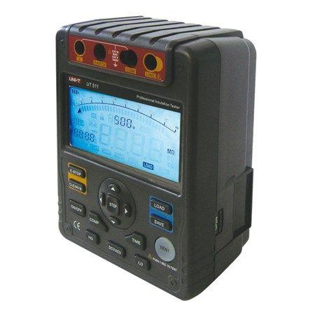 Tester izolace UNI-T UT511 1kV, Digitální tester izolačního odporu UT511