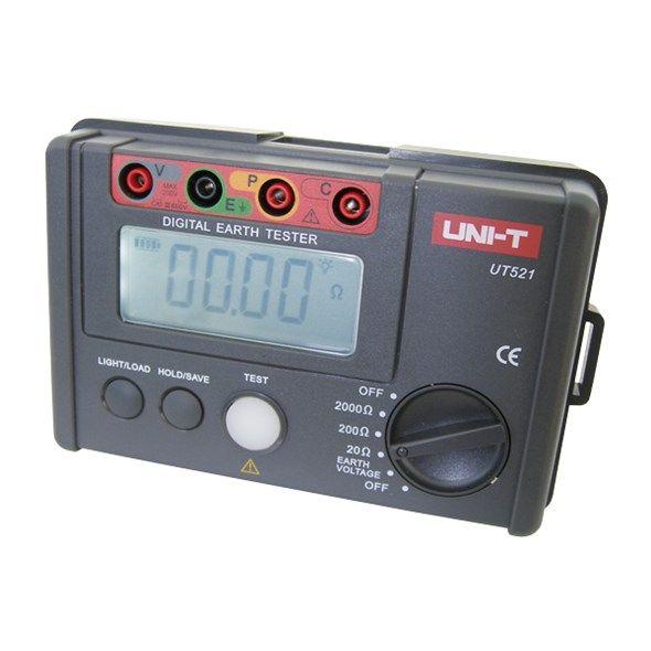 Tester zemního odporu UNI-T UT521, Digitální tester zemního odporu