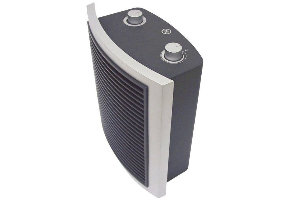 Ventilátor teplovzdušný Aurora Pikkolo Basic 24 m², 2000 W, antracitově šedá, přímotop, topení