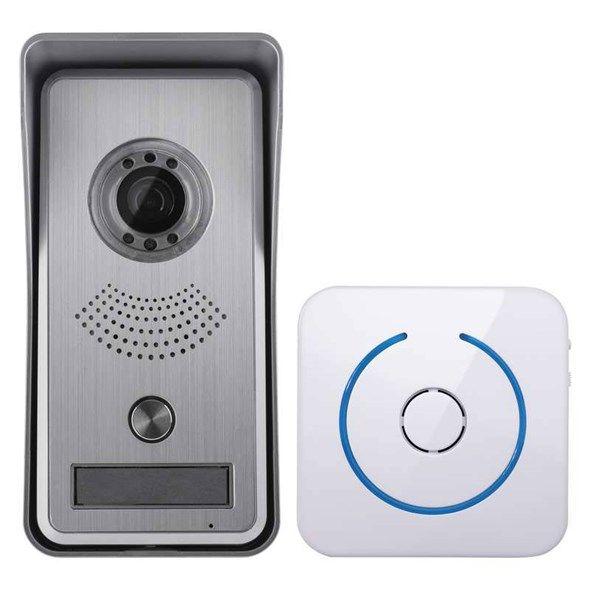 Domácí dveřní videotelefon IP kamerová jednotka WiFi, H1139, komunikující s chytrými telefony a tablety, Propojení je pomocí LAN, či WiFI