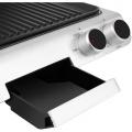 Elektrický kontaktní gril SENCOR SBG 5000BK, kontaktní, Nepřilnavé grilovací desky, 3 provozní polohy (uzavřená/otevřená 90°/otevřená 180°), odkapávací miska na olej, šťávu