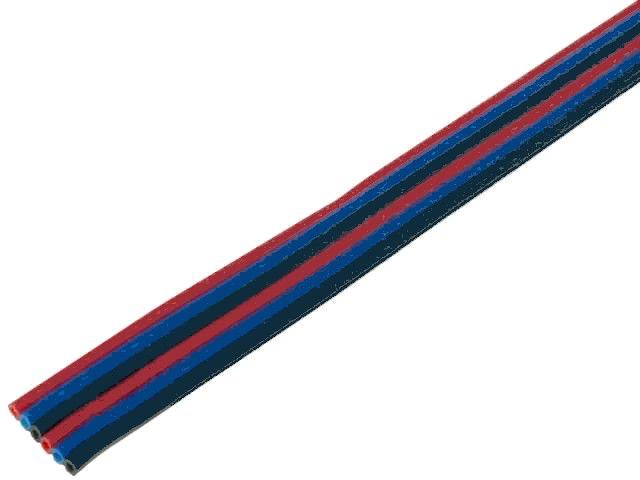 Kabel plochý PNLY 0,22-6 CN2 barevný PVC 6-žilový 0,22mm2 licna