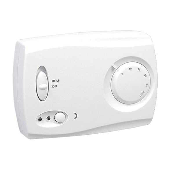 Pokojový termostat TH-3, 5-30°C, manuální termostat s nočním útlumem