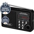 SENCOR SRD 215 B radio s USB/MP3 černá