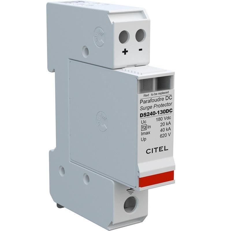 Svodič přepětí DS240S-130DC, 180Vdc, 50A, CE na DIN lištu