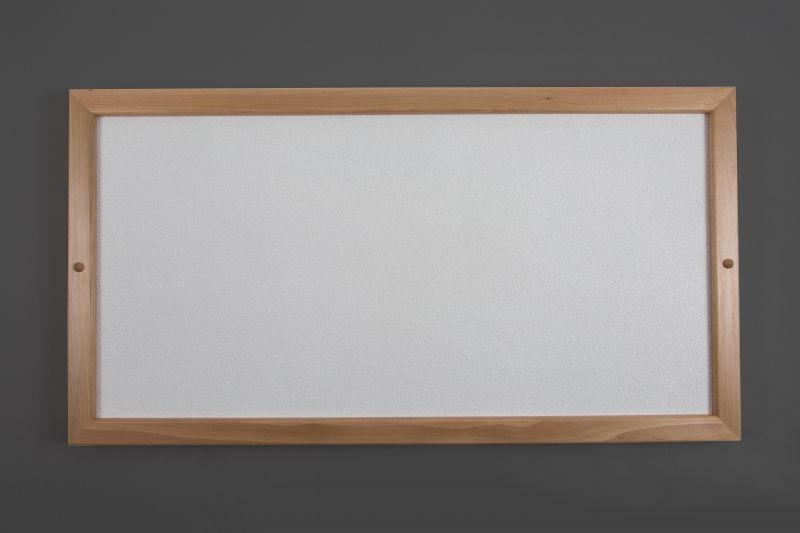 Topný sálavý panel infračervený Masiv M200S, příkon 200W, rám dřevo masiv 560x560x45mm